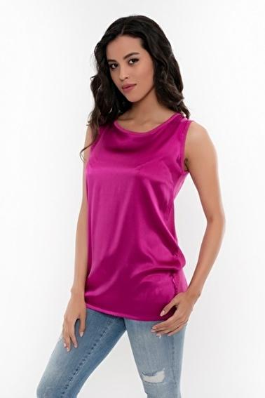 Silk and Cashmere Bluz Fuşya